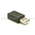 USB Gender Changer - AM-MCBF - A Male to Micro-B Female