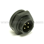 USB Waterproof Coupler - A male / Solder Type