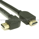 Left Angle HDMI Cable