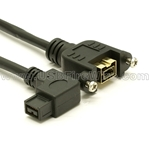 FireWire 800 Right Angle Extension Cable