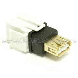 USB 2.0 Gender Changer - AF/AF - White